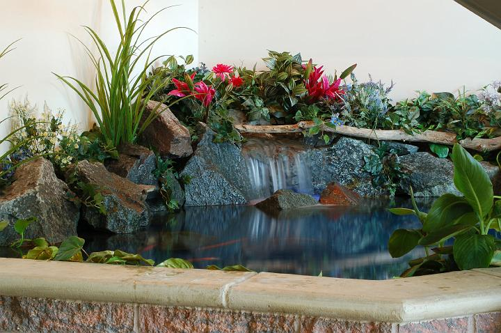 Superb An Indoor Koi Pond Brings You The Peace Of A Pond Without Distractions.  Image From Aquaeden.com