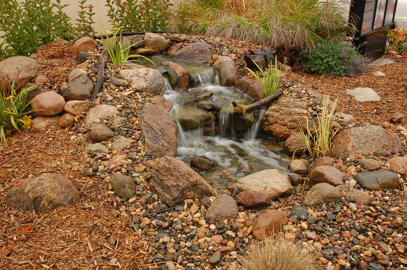 Step By Step Landscaping Waterfalls